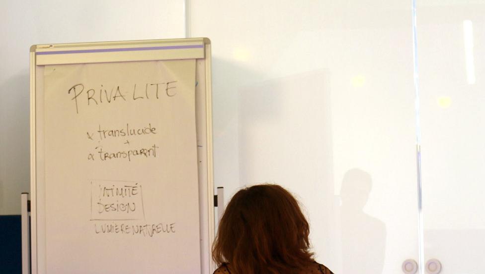Geniet van alle privacy tijdens je meeting of vergadering met PRIVA-LITE