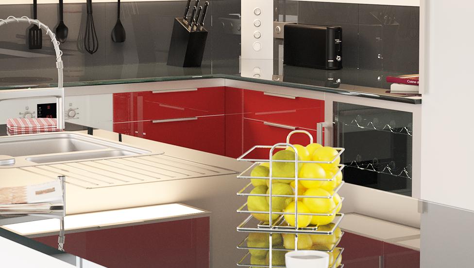 Een facelift voor de keuken nodig? Vertrouw op DECOLIT van Saint-Gobain Building Glass