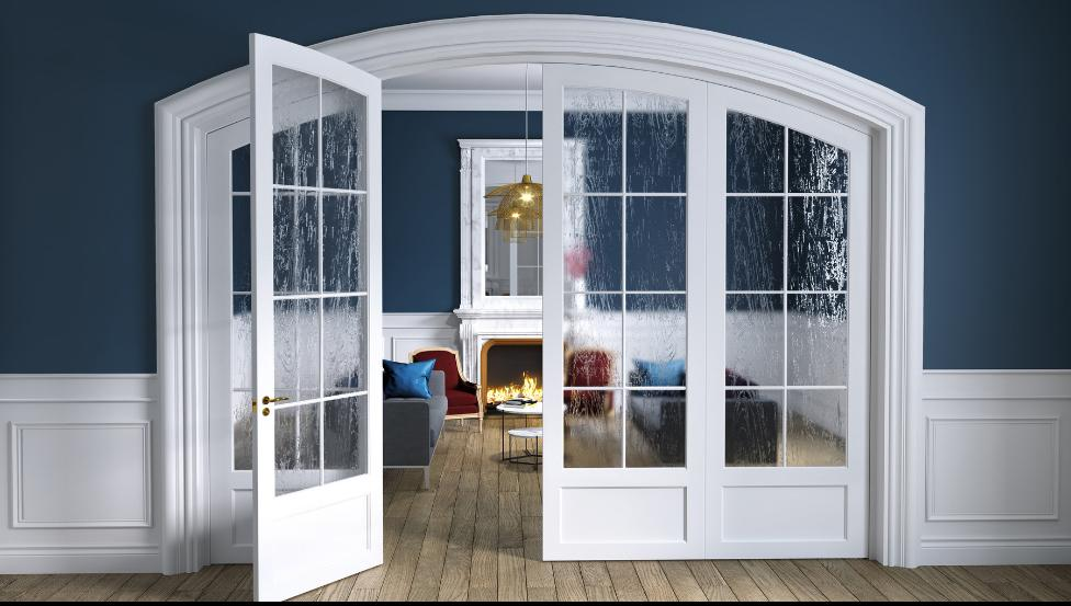 SGG DECORGLASS als glazen deur | Saint-Gobain Building Glass