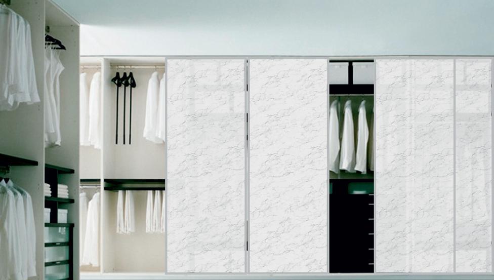 Prachtige, hedendaagse kastbekleding en meubelfronten in geprint glas PICTURE-IT