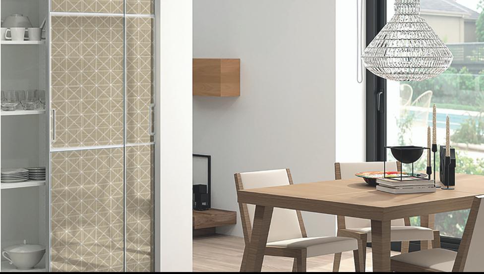 PICTURE-IT is digitaal geprint interieurglas voor binnendeuren, scheidingswanden of meubelfronten