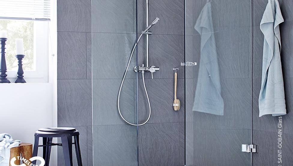 Spezialglas für Duschen | SGG TIMELESS | Saint-Gobain Building Glass