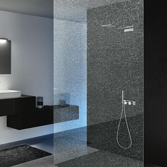 Corrossiewerende bad- & douchewanden TIMELESS GLASS SHOWER | Saint-Gobain Building Glass